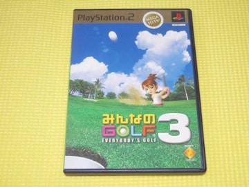 PS2★みんなのGOLF 3 MEGA HITS!