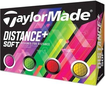 テーラーメイド(TAYLOR MADE) ゴルフボール DISTANCE DISTANCE+S