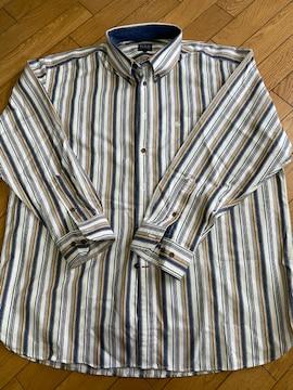 4Lストライプワイシャツ