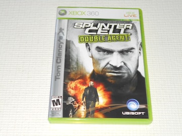 xbox360★Tom Clancy's SPRINTER CELL DOUBLE AGENT 海外版