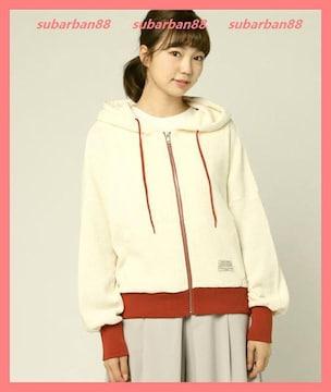 ☆ミルクフェド☆超美品☆ビッグフードワッフルパーカー☆