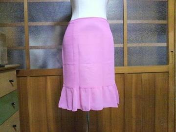 Pinky Girls/ピンキーガールズピンク シフォン フリル スカート