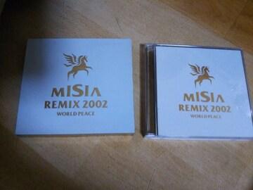★CD MISIA REMIX 2002 WORLD PEACE ミーシャ リミックス2002 2枚組★