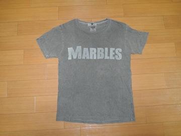 MARBLESマーブルズ × Mエム ロゴTシャツS ピグメント加工 TMT