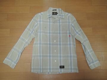 WTAPS ダブルタップス UNION チェックシャツ S 薄手 長袖