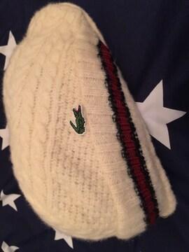 ラコステ LACOSTE ニットの帽子