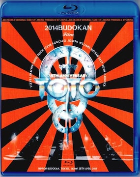 TOTO 35周年 Japan Tour 日本武道館 4.28 2014 (Blu-Ray)1Disc