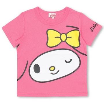 新品BABYDOLL☆100 マイメロディ  Tシャツ ピンク ベビードール