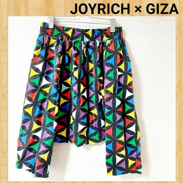 JOYRICH × GIZA ジョイリッチ ギザ サルエルパンツ スウェット