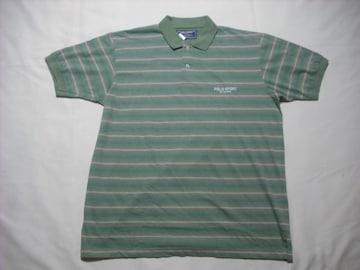 78 男 RALPH LAUREN ラルフローレン ポロスポーツ ポロシャツ L