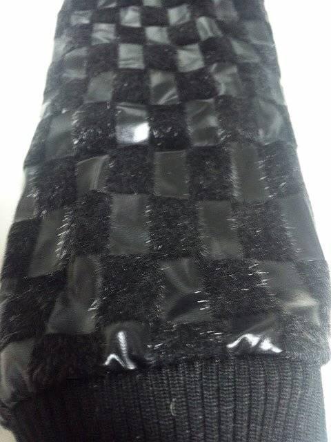 〓新品〓袖切り替えオールファーフード付JKT〓M < 男性ファッションの