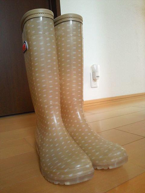 新品レインブーツ長靴24�pエンジェルブルー/ANGELBLUE < ブランドの