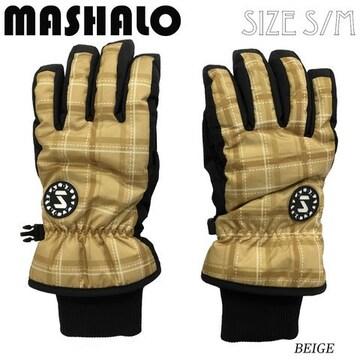 マシャロMASHALOスノーグローブ スキー レディース MSG-616 BEI