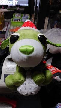 お茶犬・クリスマスぬいぐるみ・大・小
