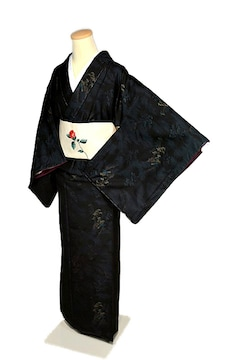 【最高級】【未使用品】 伝統的工芸品【本場大島紬】 小紋 T1865