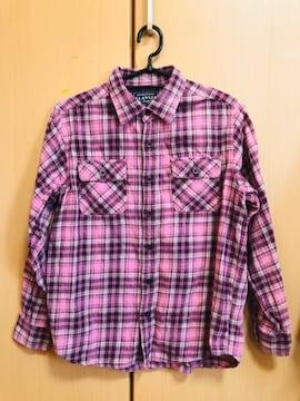 チェックシャツ/150/送料込