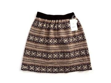 新品 定価6900円 VERS BLNCS エスニック柄 ニット スカート