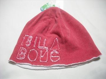 wn66 女 BILLABONG ビラボン スウェット帽 ビーニー 赤