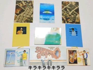 ◆B'zファンクラブ<B'z Party>特典★Summer Greetingカード�A/6枚セット
