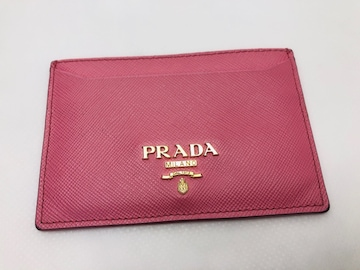 D043 プラダ 定期入れ 名刺入れ カード入れ パスケース