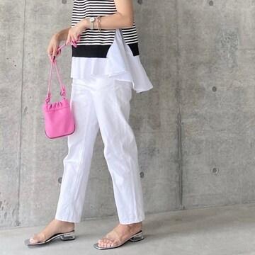 ◆ZARA/ザラ◆新品!!ノット付きミニバケットバッグ★ピンクミニショルダー♪