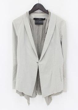 ディレイン/DIRAIN リネン混レイヤードフックジャケット