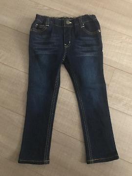 男女OK長ズボン100ジーンズパンツ美品