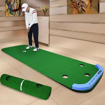 ゴルフ パターマット 3m パター練習用 大型
