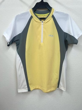 FILA ゲームシャツ テニスウェア スポーツ メッシュ フィラ