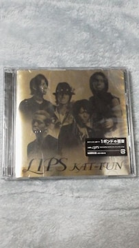 激安KAT-TUN『LIPS』初回限定盤(DVD付)美品貴重オマケ付
