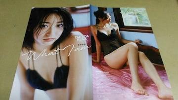 ★武田玲奈★グラビア雑誌.切抜き・8P。同梱可。