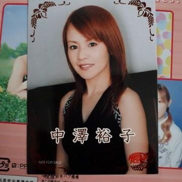 中澤裕子公式両面トレカ