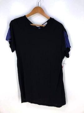 UNDERCOVER(アンダーカバー)R後ジョーゼットマチBIGカットソークルーネックTシャツ