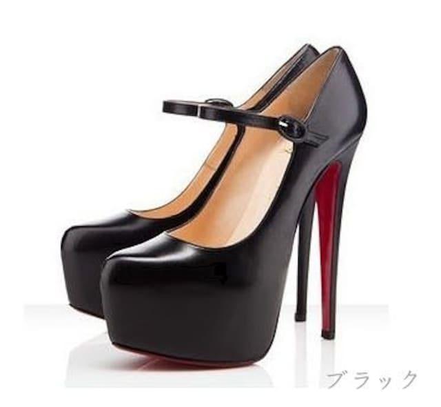 送料無料★アンクルベルトストームパンプス/★美脚/ヒール/靴 < 女性ファッションの