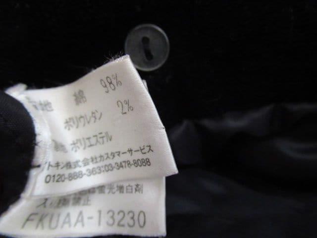 人気ブランド&良品★イトキン:MICHEL KLEIN PARIS★綿/黒/M-L < 女性ファッションの