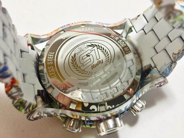 定価27万円★Invicta★Reserve ★グラフィック★WR500 < 男性アクセサリー/時計の