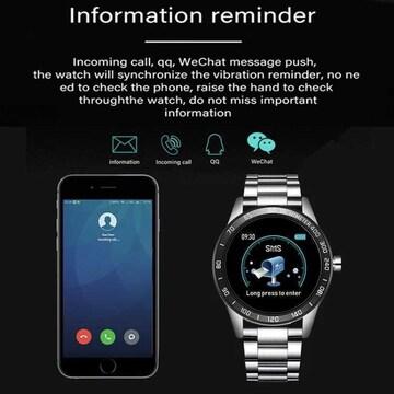 LIGE スマート腕時計 メンズ スポーツ 多機能