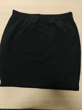 黒のタイトミニスカート◆裏地付き◆Mサイズ★美品です!