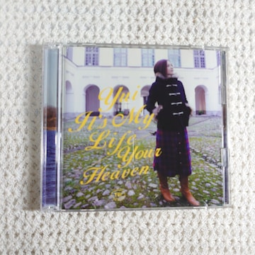 【送料無料 】YUI It's My Life/Your Heaven 初回限定盤 CD