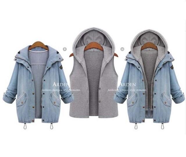 TK32即決 新品 デニム ジャケット M エモダ イング セシル マーキュリーデュオ 好きに < 女性ファッションの