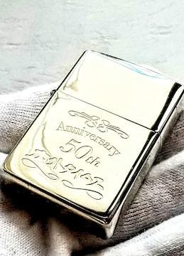 ZIPPO 内外タイムス 50th ANNIVERSARY ジッポライター