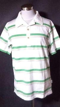 新品AIPAボーダーポロシャツMサイズ