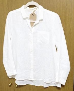 ЯЩ】�@新品サンバレー 麻シャツ 着丈67