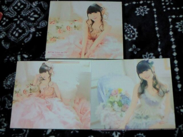 CD+DVD 田村ゆかり あのね Love me Do 初回限定盤  < タレントグッズの