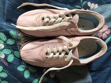 スニーカー自宅保管 海外製 ポリンク用靴 サイズ22
