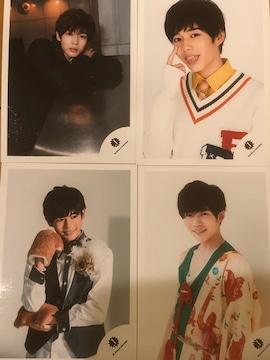 激レア!☆関西ジャニーズjr/長尾謙杜☆公式生写真4枚!☆超美品!