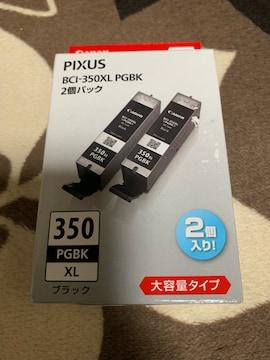 Canon 純正インクカートリッジ BCI-350 ブラック 大容量 2個入