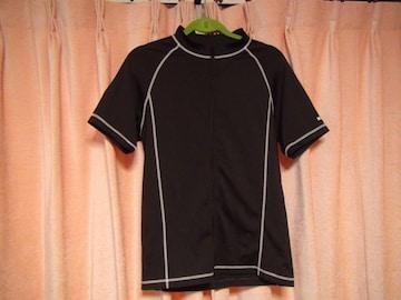 IGNIOの黒のドレスシャツ(L)!。