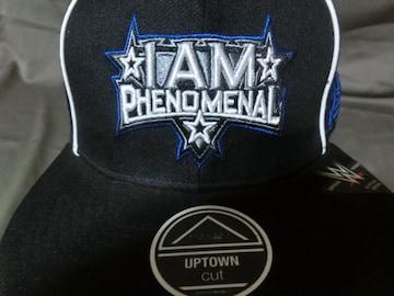 WWE AJ Styles 【I Am Phenomenal】ロゴ刺繍CAP