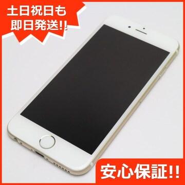 ●安心保証●美品●SOFTBANK iPhone6 16GB ゴールド●